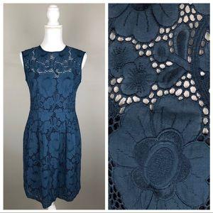 Nanette Lepore Lace Sleeveless Sheath Dress
